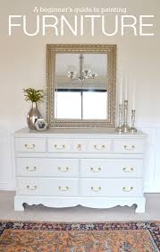Bedroom Furniture Dresser Livelovediy How To Paint Furniture Why It S Easier Than You Think
