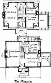 cape house floor plans the hiawatha dutch cape house plan 1922 brick dutch cape dormered
