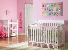 baby nursery bedroom pink decoration baby bedding with wooden