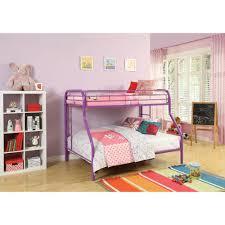 Acme Furniture Acme Furniture Tritan Twin Over Full Metal Kids Bunk Bed 02053pu