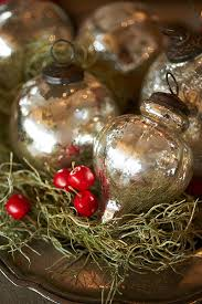 gorgeous mercury baubles tr to replicate with clear glass