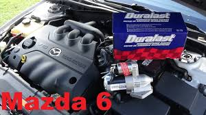 where is mazda made 2004 3 0 v6 mazda 6 starter replacement youtube
