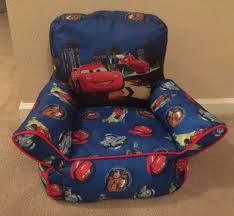 disney cars 2 toddler bean bag chair what u0027s it worth