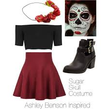 La Muerte Costume The 25 Best Sugar Skull Costume Ideas On Pinterest Sugar Skull