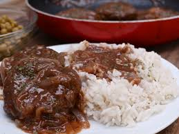 southern hamburger steak u0026 onion gravy divas can cook