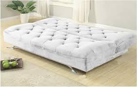 piccolo divano letto divano letto 195x87cm bianco tessuto 3 posti reclinabile imbottito