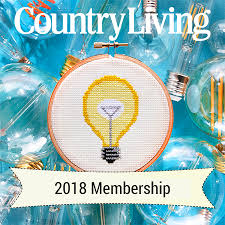 country living subscription country living kits 2018 cross stitch subscription easy 123 art
