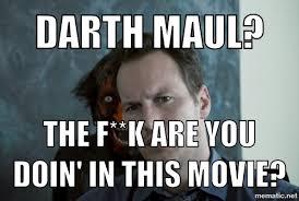 Darth Maul Meme - darth maul in insidious by determinator12 on deviantart