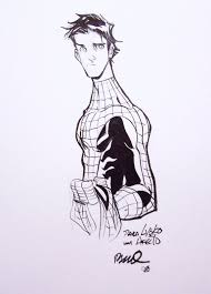draw spiderman body outline spiderman human body art