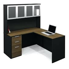 Computer Desk With Doors Computer Desk Wood Furniture L Shaped Wood Computer Desk