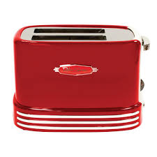 Bella Linea 4 Slice Toaster Nostalgia Retro 2 Slice Red Toaster Rtos200 The Home Depot
