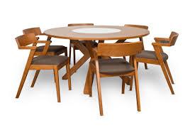 corrigan studio solomon 7 piece dining table set u0026 reviews wayfair