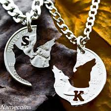 wolf and fox necklaces namecoins