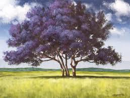 jacaranda tree acrylic painting lesson tim gagnon studio