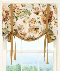 Tie Up Valance Curtains White Linen Tie Up Curtains Tie Up Curtains Diy Up Valance