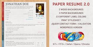 Opera Resume Template 35 Best Online Cv Resume Templates Web U0026 Graphic Design Bashooka