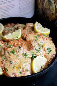 pork chops with lemon thyme cream sauce creole contessa pork