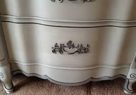 Vintage French Home Decor Vintage French Provincial Dresser Paris Grey Silver F Vintage