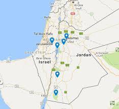 Jordan World Map by Wander To Jordan And Jerusalem Wandering Earl Tours
