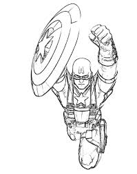 captain america coloring pages printable printable captain 4135