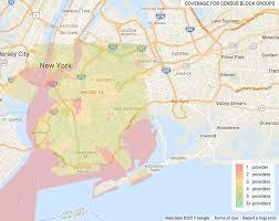 Williamsburg Brooklyn Map Fun Maps Which Brooklyn Neighborhoods Have The Best Internet
