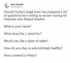 List Of Memes And Names - john hartzell donald trump s legal team has prepared a list of