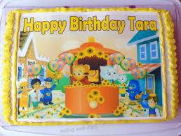 daniel tiger cake daniel tiger themed chocolate birthday cake and cupcakes egg free