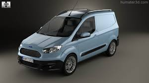 ford transit 2015 360 view of ford transit courier 2015 3d model hum3d store