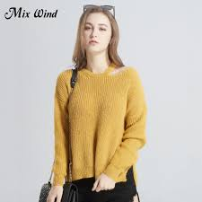 warm womens sweaters mix wind winter womens sweaters pullover 2017 hollow out