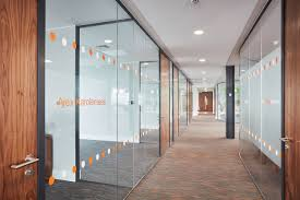 orange armstrong ceilings light up regeneration project