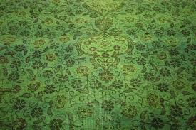 area rugs wool one of a kind 10x12 lime green overdyed tabriz hand knotted wool