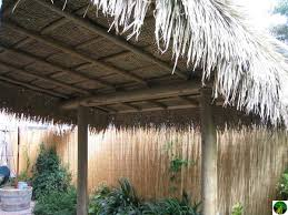 How To Build A Tiki Hut Roof Tiki Hut Roof Palm Leaves Roof Tiki Hut Materials
