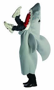 Halloween Costumes Men Amazon Com Rasta Imposta Man Eating Shark Costume Gray One Size