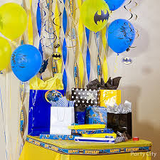 Batman Decoration Batman Birthday Party Ideas Party City