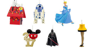 wow hallmark disney ornaments only 5 99 shipped
