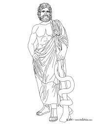 asclepius greek goddess u0026 gods coloring page coloring pages of
