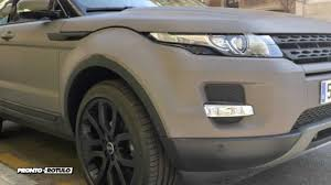 wrapped range rover pr concept car wrapping range rover evoque gris a marron militar