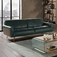 100 Percent Genuine Leather Sofa Modern Leather Sofas Couches Allmodern