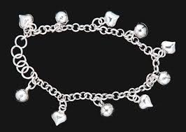 bracelet with hearts images 34 best foot anklet images jewelry necklaces and jpg