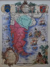 Patagonia Map Araucaniecoul Jpg