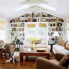 Ceiling Bookshelves by Bookcase Of The Day With The Bar Decorated Shelves Bookcases