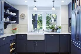 Blue Kitchen Design Navy Blue Kitchen Cabinets Blue Kitchen Cabinets The