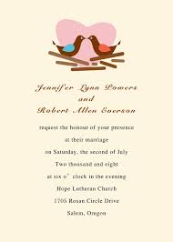 wedding invitations printable modern birds with heart printable wedding invitations online