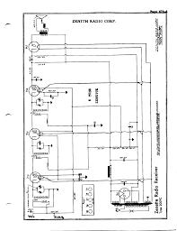 zenith floor plan zenith radio corp 5 tube zennette antique electronic supply