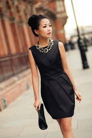 dress with necklace images 7 ways to wake up your little black dress statement necklace jpg