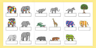 Elmer The Patchwork Elephant Story - elmer david mckee storybook resources page 5