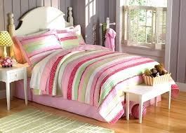 Quilt Comforter Set King Size Quilt Bedding Sets Anna Pink Green Bedding For Girls 2pc