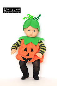 Boys Pumpkin Halloween Costume Halloween Costume 18 Doll Clothes Pattern Pdf Download
