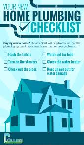 plumbing services belleville your new home plumbing checklist