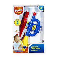 bruin jammin u0027 jazz band 2 piece trumpet and recorder set toys